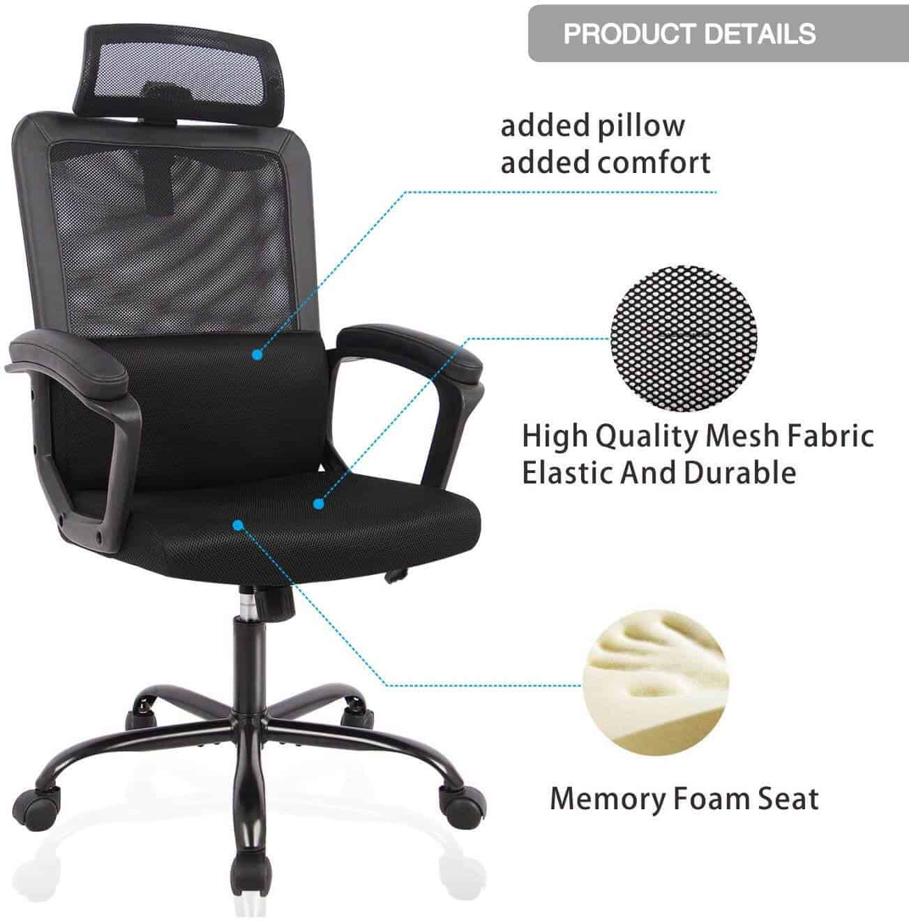 Best Computer Chair For Long Hours Of Sitting 2020 Reviews Office Solution Pro