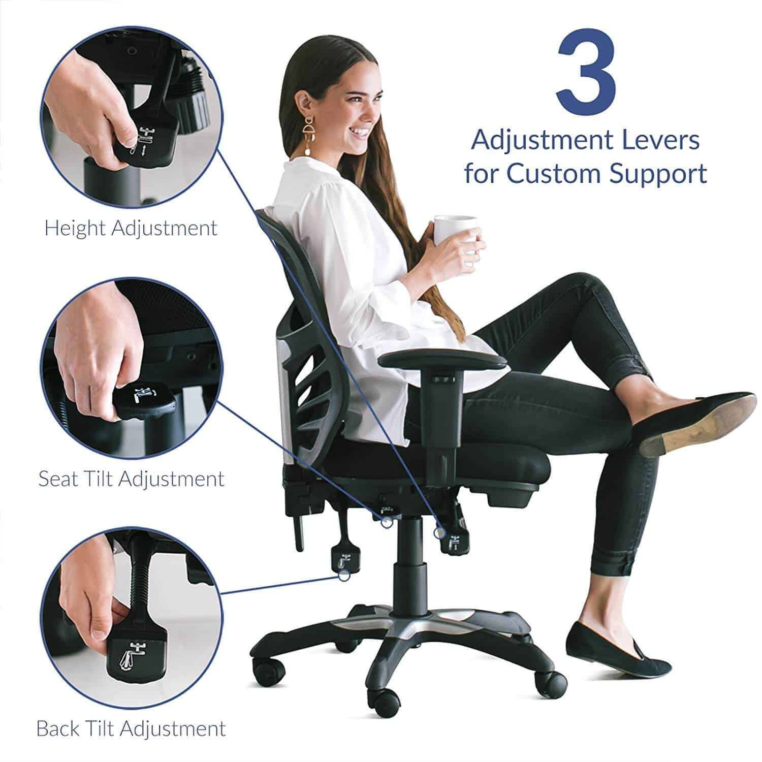 Best Office Chair For Short Person With Back Pain 2021 Reviews Office Solution Pro