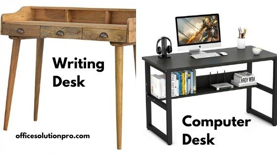 Writing Desk vs. Computer Desk Comparison