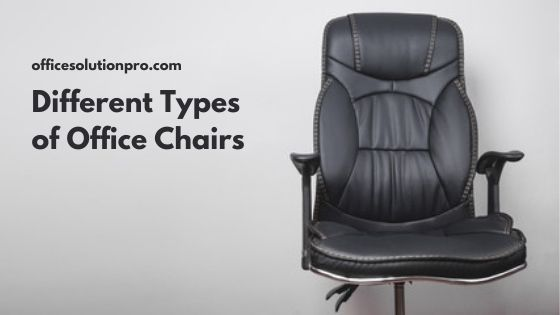 Different Types of Office Chairs Explained (With Pics)